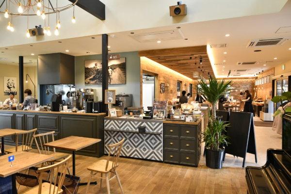 【香住ヶ丘】海のみえるテラスでパンとコーヒーを楽しめる「フルフル風の森店」〜カフェ編